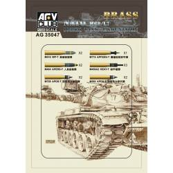 NATO M68/L7 105mm tank ammunition