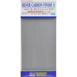 PLAQUE SILVER CARBON 12
