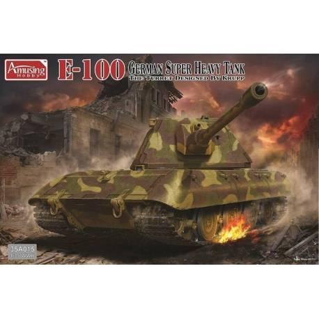 E-100 German Super Heavy Tank Krupp Turret