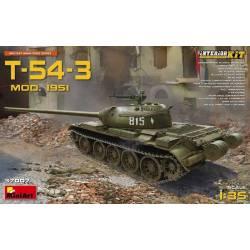 T-54-3 Mod 1951 INTERIOR KIT