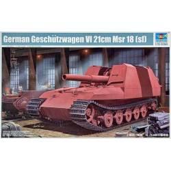 Geschützwagen  TIGER GRILLE II 21 Auf 210 mm Mortar 18/1 L/31