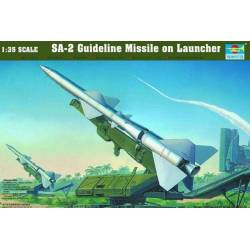 SA-2 Guideline Missile on launcher