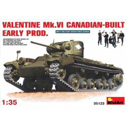 VALENTINE Mk. VI CANADIAN - BUILT EARLY PROD.