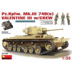 Pz.Kpfw. Mk.III 749(e) VALENTINE III w/CREW