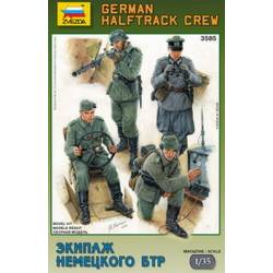 GERMAN HALF TRACK CREW