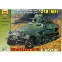 GERMAN SD.KFZ 251/10 with 37mm gun