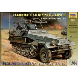 SD.KFZ.251/3 Ausf.B Mittlerer Funkpanzerwagen