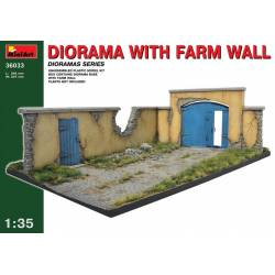 DIORAMA WITH FARM WALL