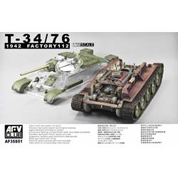 T34/76 Model 1942 Factory 112 full intérior kit