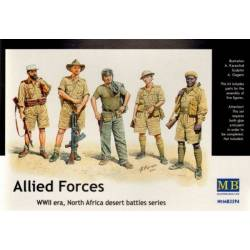 Allied Forces, WW II era, North Africa desert battles series