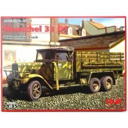 Henschel 33D1 WWII German Army Truck