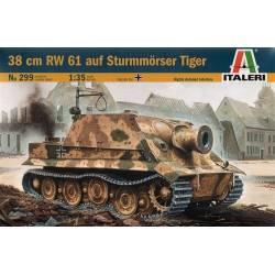 38 cm RW 61 auf Sturmmörser Tiger