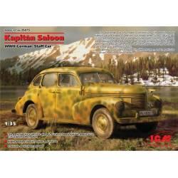 Kapitän Saloon, WWII German Staff Car