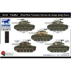 "M-24 ""Chaffee"" (Post-War Version) Service In Asian Army Force"