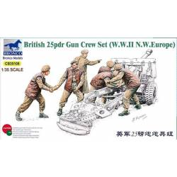 British 25pdr Gun Crew Set (Europe)