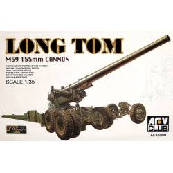 M59 155MM CANNON LONG TOM