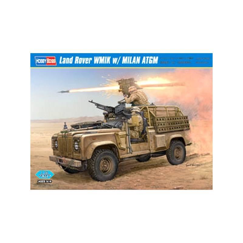 Land Rover WMIK W/ MILAN ATGM HOBBY BOSS 82447 1/35ème