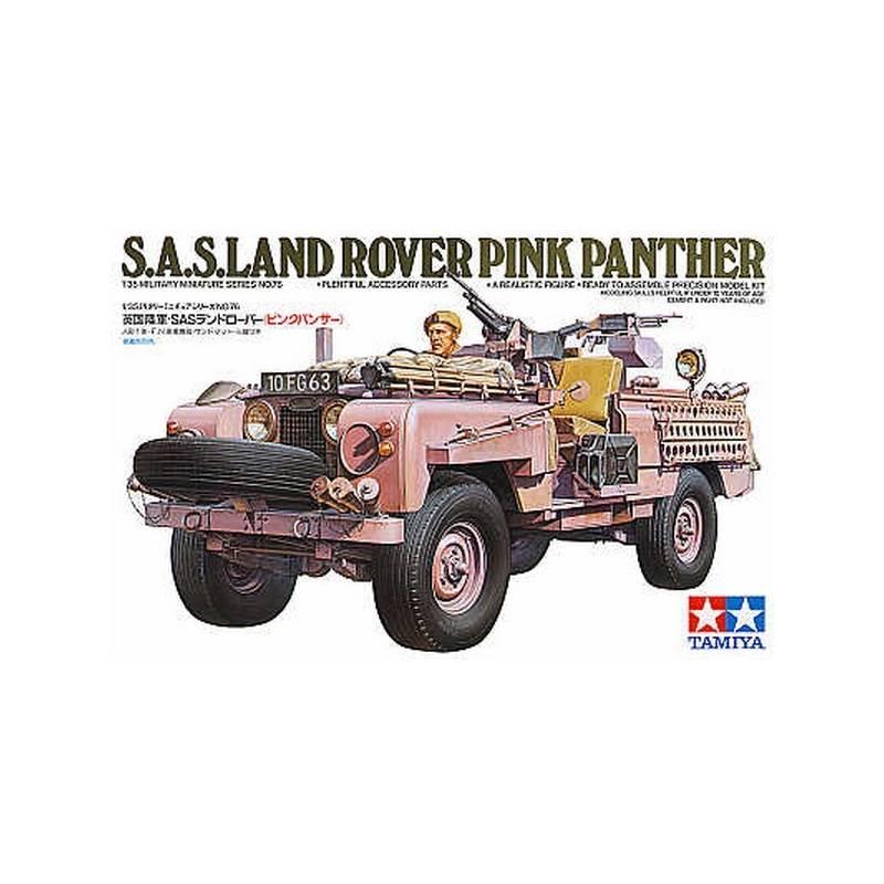 SAS Pink Panther Land Rover TAMIYA 35076 1/35ème Maquette