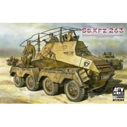 Sd.Kfz.263 SCHWERER PANZERFUNKWAGEN 8-rad