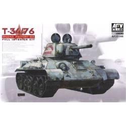 T-34/76 Mod 1942/43 Factory 183 (Full Interior)