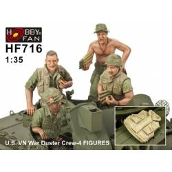 U.S. VN War Duster Crew-4 FIGURES
