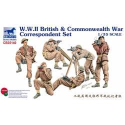 W.W.II British & Commonwealth War Correspondent Set