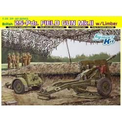 British 25-Pdr. Field Gun Mk.II w/Limber