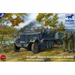 Sd. Kfz.6 - Mittlerer Zugkraftwagen 5t (BN9b) Pioneer version