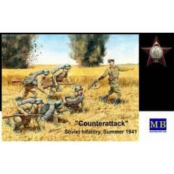 Counterattack Soviet Infantry Summer 1941