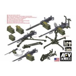 U.S. M2HB .50 Cal Machine Gun set W/M3 tripod & M63 ANTI-AIRCRAFT MOUNT