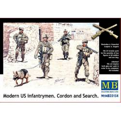 US Infantrymen - Cordon and Search
