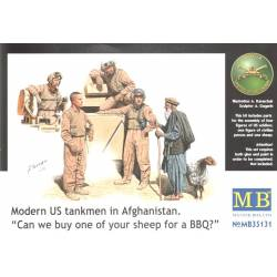 Modern US Tankmen in Afghanistan 'Sheep for the BBQ?'