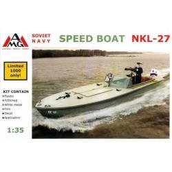 Soviet Navy Speed Boat NKL-27