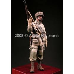 """WW2 US Paratrooper 82nd Airborne """"All American"""""""