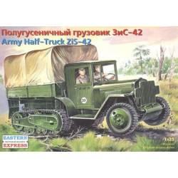ZiS-42 Soviet WW2 Army Half-Truck