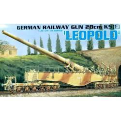 """German Railway Gun 28cm K5(E) """"Leopold"""""""
