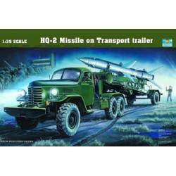 HQ-2 Missile on transport trailer