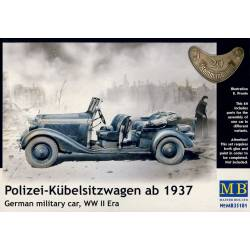 Polizei-Kübelsitzwagen ab 1937 German Military Car