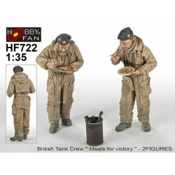 "Bristish Tank Crew ""Meal for Vectory"" -2 figs"