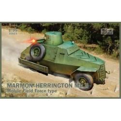 Marmon-Herrington Mk.II Mobile Field Force type