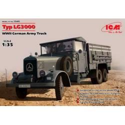 Typ LG3000 WWII German Army Truck