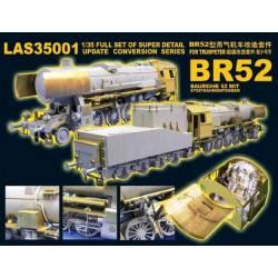 Kriegslokomotive BR52 for Trumpeter 00210