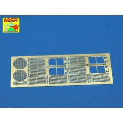 Grilles for german tank Standardpanzer E-75 or E-50