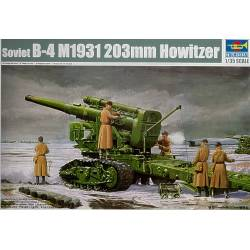 Soviet B4 Model 1931 203mm Howitzer