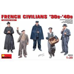 FRENCH CIVILIANS '30s-'40s