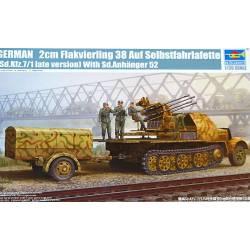 SdKfz 7/1 LATE W/2CM FLAKVIERLING 38