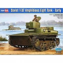 Soviet T-37 Amphibious Light Tank - Early
