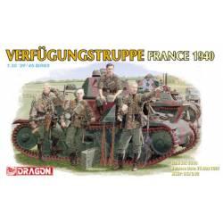 Verfugungstruppe France 1940