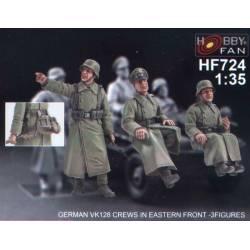 German VK128 Crews in Eastern Front