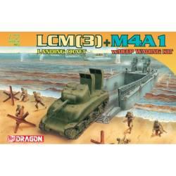 LCM(3) Landing Craft + M4A1 w/Deep Wading Kit